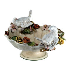 Centerpiece with Doves and Roses by Ceccarelli