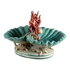 Centerpiece with Turtles and Shells by Ceccarelli