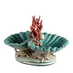 Centrepiece with Turtles and Shells