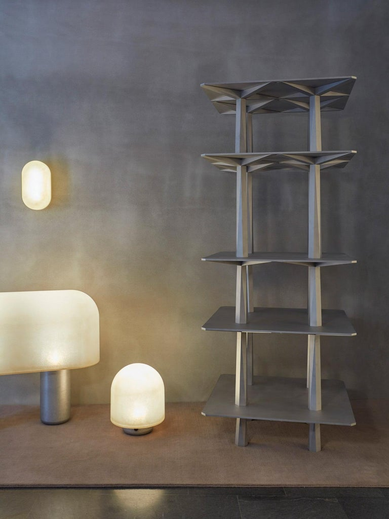 Modern Centina Shelf in Aluminum by Oeuffice For Sale