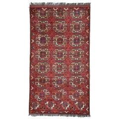 "Central Asian Rug with Animal ""Gul"" Design 'DK-114-9'"