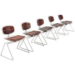Centre Pompidou Beauburg Chairs Selected by Jean Prouvé