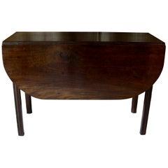 Centre Table, Drop-Leaf Table, Side Table, England, 1810-1820 Georgian Table