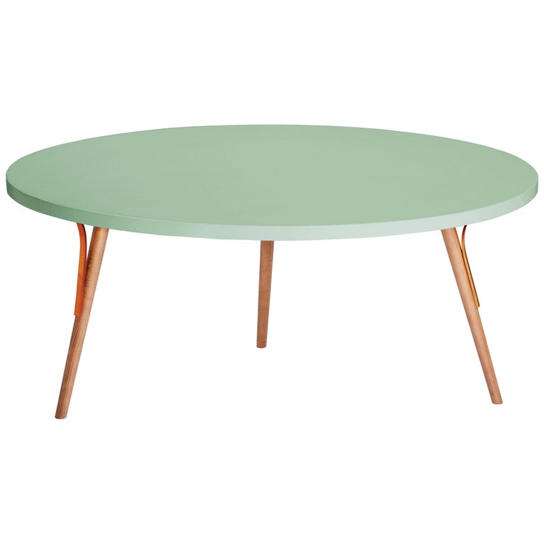 Centre Table Way in Wood and Copper 1