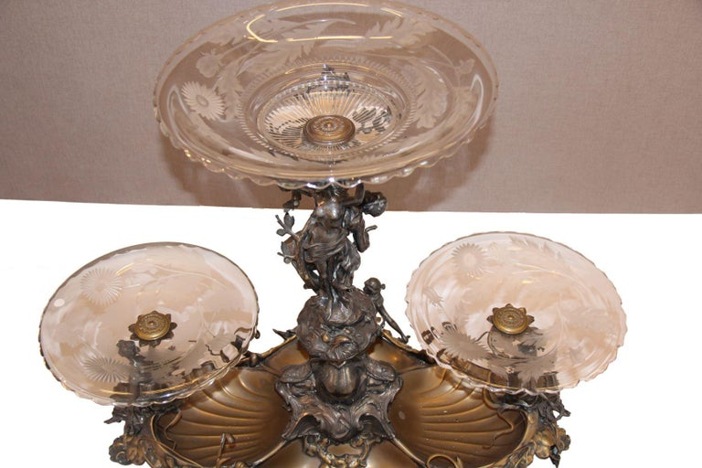 Carved Centrepiece WMF For Sale