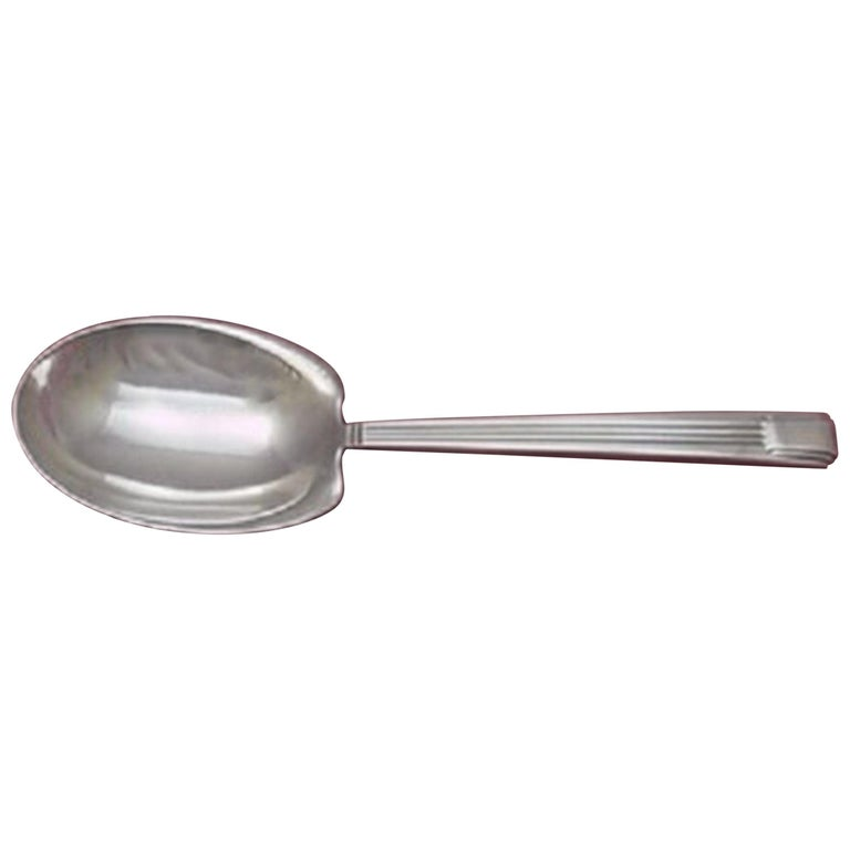 Century by Tiffany & Co. Sterling Silver Preserve Spoon For Sale