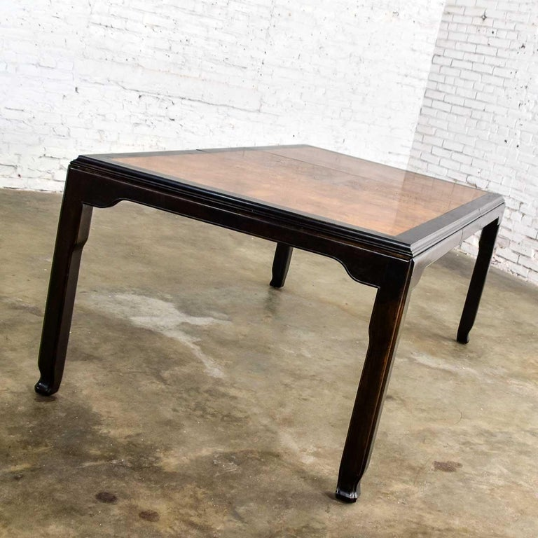 Century Chinoiserie Hollywood Regency Chin Hua Dining Table by Raymond K. Sobota For Sale 5
