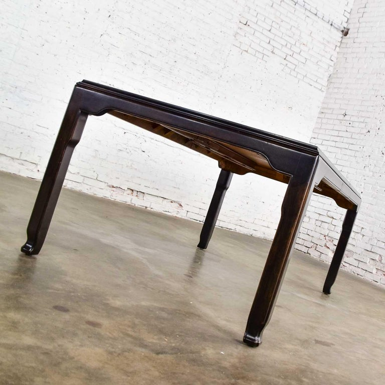 Century Chinoiserie Hollywood Regency Chin Hua Dining Table by Raymond K. Sobota For Sale 6