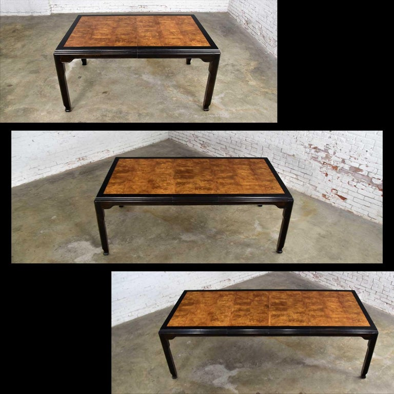 Century Chinoiserie Hollywood Regency Chin Hua Dining Table by Raymond K. Sobota For Sale 7
