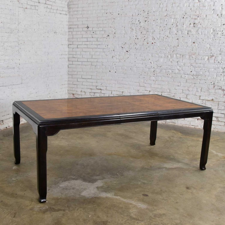 Century Chinoiserie Hollywood Regency Chin Hua Dining Table by Raymond K. Sobota For Sale 3