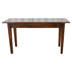 Century French Provincial Pine Farmhouse Console Table