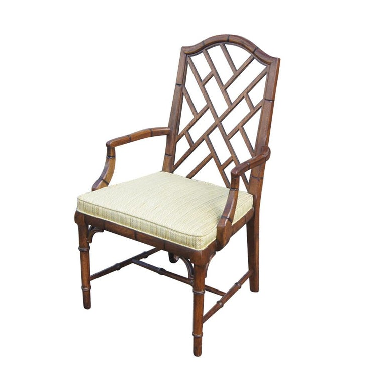 Fabric Century Furniture Chin Hua Dining Suite For Sale
