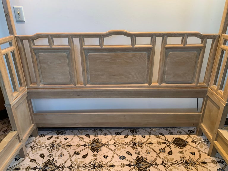 Late 20th Century Century Furniture Company Ray Sabota Designed Illuminated Alcove Queen Size Bed  For Sale