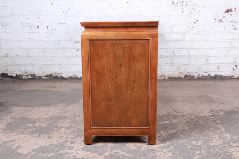 Century Furniture Hollywood Regency Chinoiserie Burl Wood Dresser or Credenza For Sale 9