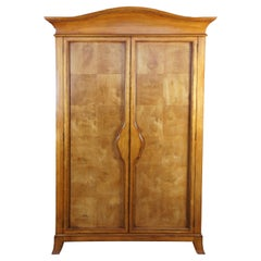 Century Furniture Honey Brown Armoire Clothing Entertainment Cabinet 651-214