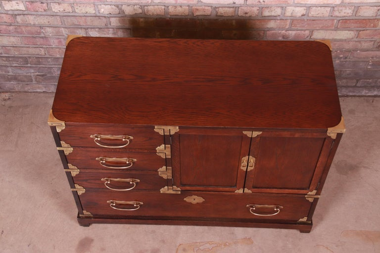 Century Furniture Midcentury Hollywood Regency Chinoiserie Dresser Chest For Sale 3
