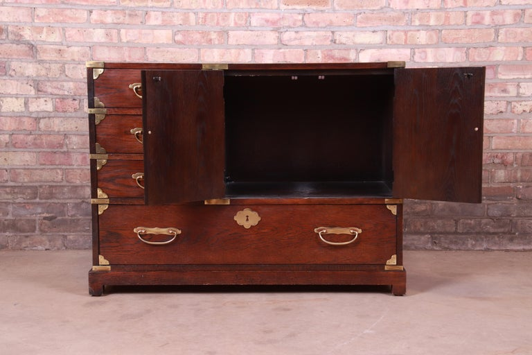 Century Furniture Midcentury Hollywood Regency Chinoiserie Dresser Chest For Sale 1