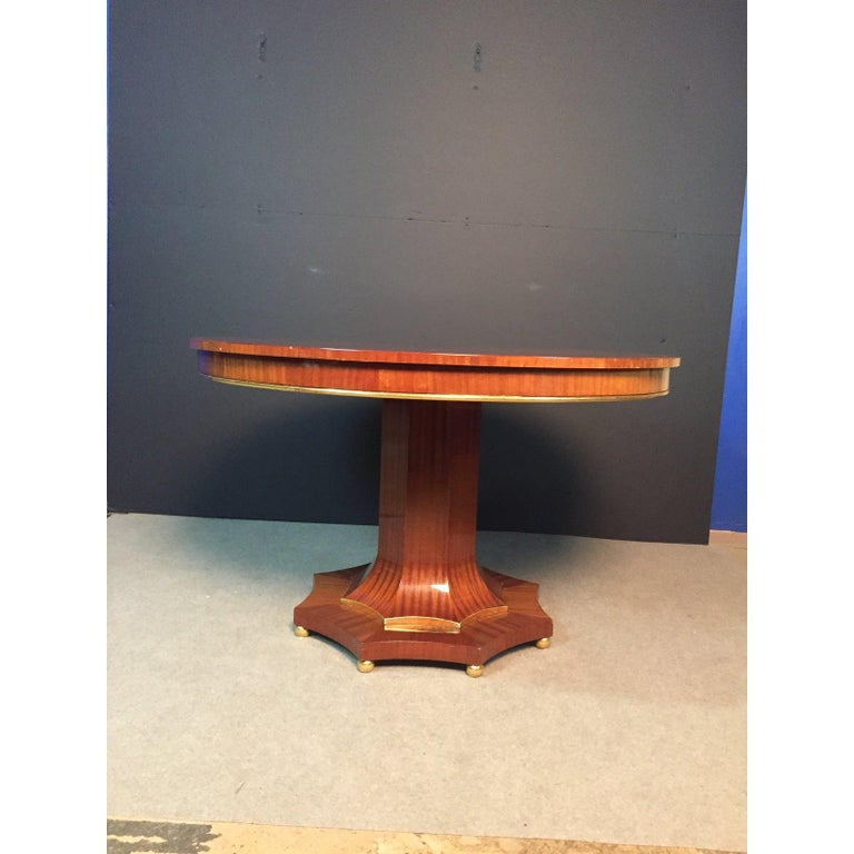 Contemporary Century Regency Style Center Table For Sale