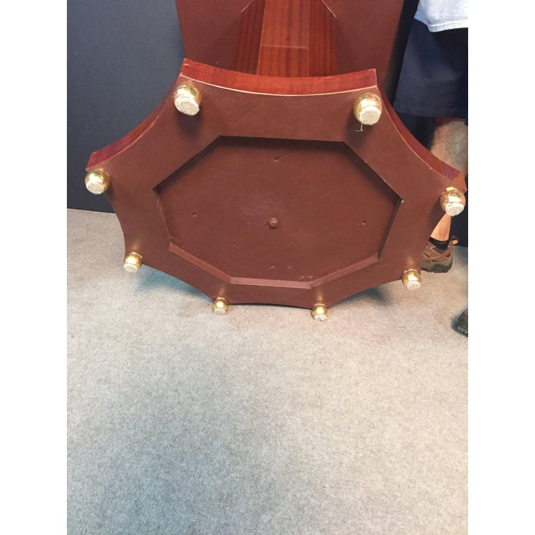 Century Regency Style Center Table For Sale 1