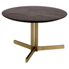 Ceo Coffee Table with Cappuccino Marble Top