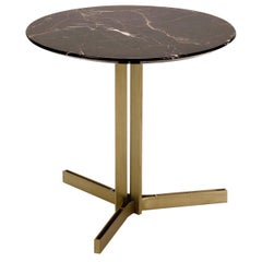Ceo Coffee Table with Saint Laurent Marble Top