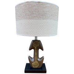 Ceramic Abstract Table Lamp
