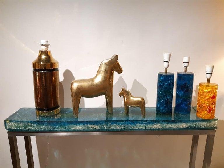 Ceramic Aldo Londi Table Lamp Bitossi, Italy, 1960 For Sale 4