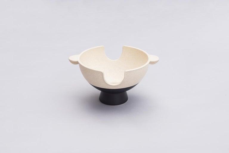 Modern Ceramic Anafre, Contemporary Mexican Design For Sale