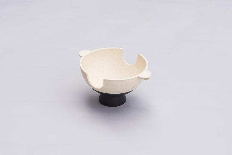 Glazed Ceramic Anafre, Contemporary Mexican Design For Sale