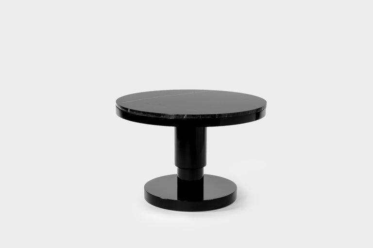 Ceramic and marble coffee table by Eric Willemart