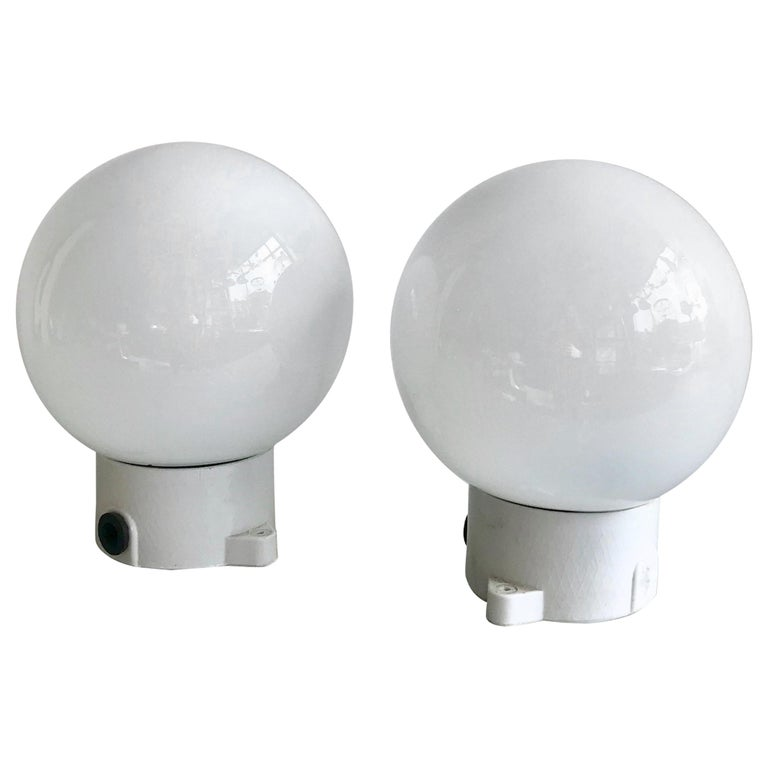 Ceramic and Opaline Lights For Sale