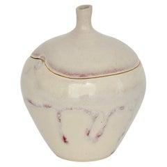 Ceramic Apple Sculpture