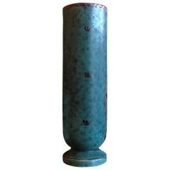 Ceramic Art Deco Bud Vase by Wilhelm Kage for Argenta