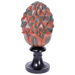 Ceramic Artichoke on Stand
