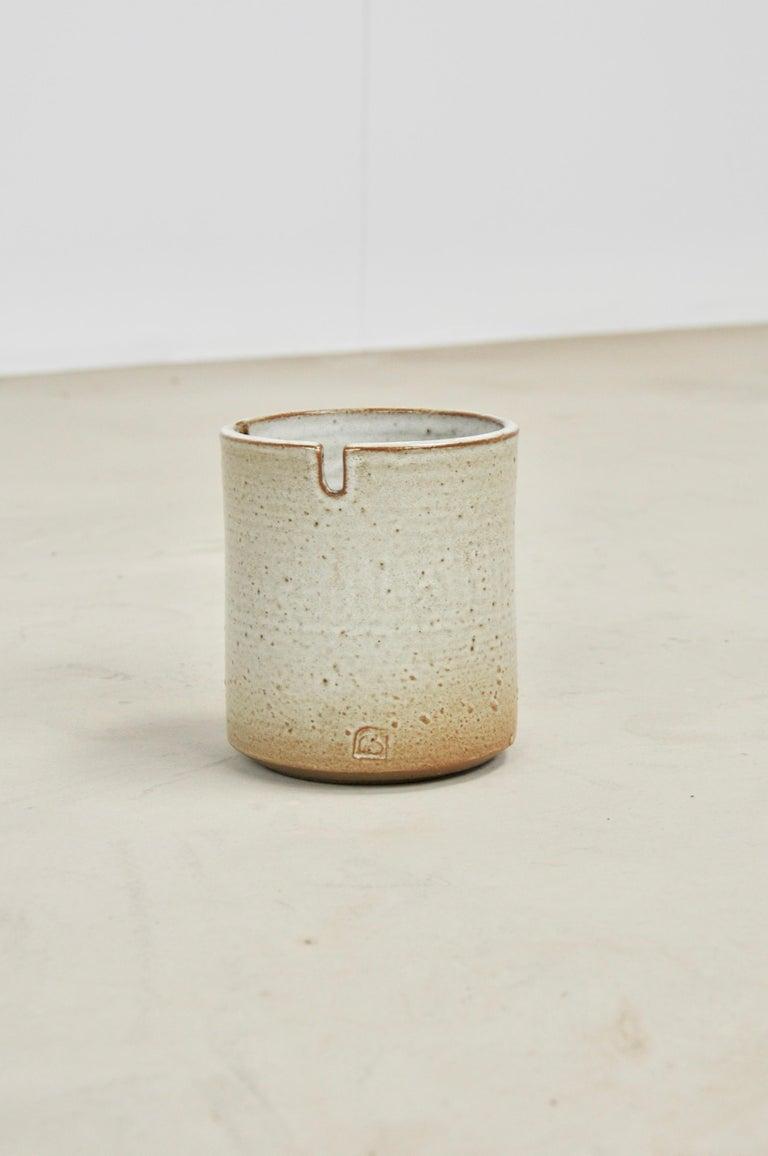 Ceramic ashtray. Stamped.