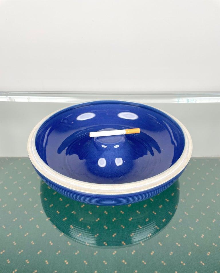 Ceramic Ashtray by Franco Bucci for Laboratorio Pesaro, Italy, 1970s For Sale 4