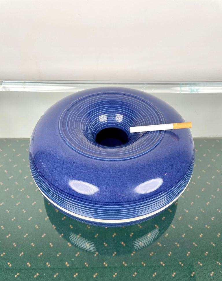 Ceramic Ashtray by Franco Bucci for Laboratorio Pesaro, Italy, 1970s For Sale 5