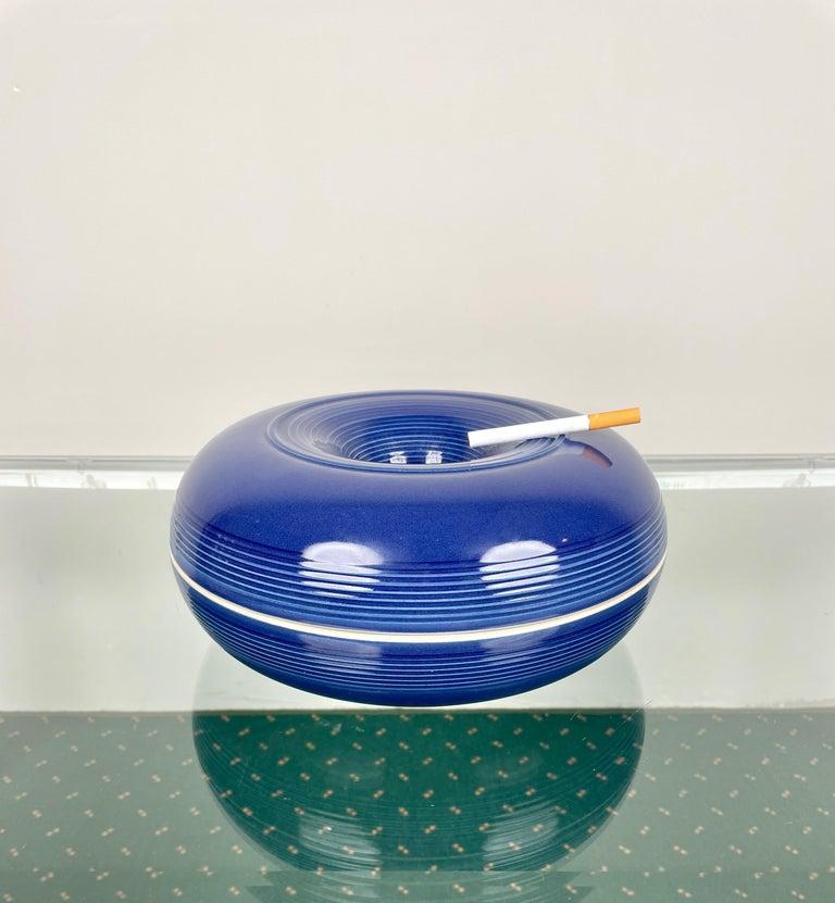 Ceramic Ashtray by Franco Bucci for Laboratorio Pesaro, Italy, 1970s For Sale 6