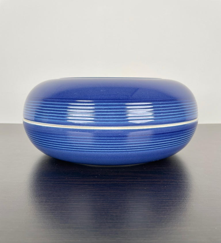 Ceramic Ashtray by Franco Bucci for Laboratorio Pesaro, Italy, 1970s For Sale 7