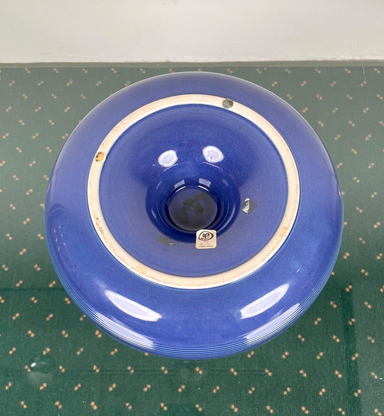 Ceramic Ashtray by Franco Bucci for Laboratorio Pesaro, Italy, 1970s For Sale 8