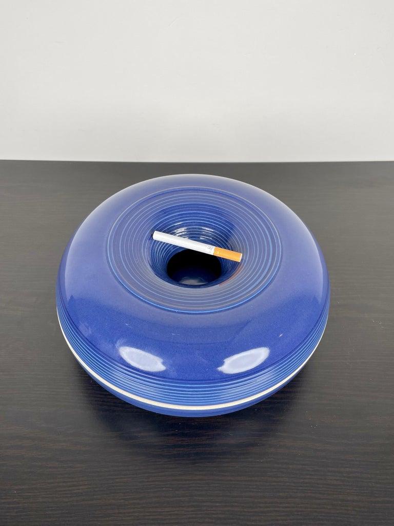 Mid-Century Modern Ceramic Ashtray by Franco Bucci for Laboratorio Pesaro, Italy, 1970s For Sale
