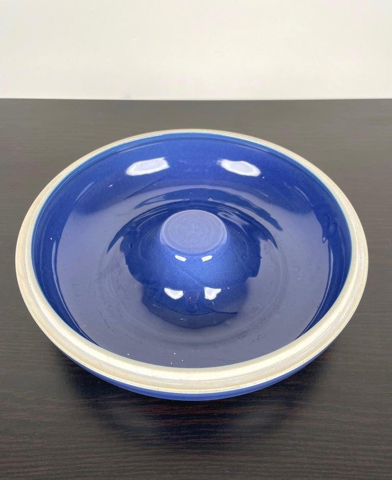 Ceramic Ashtray by Franco Bucci for Laboratorio Pesaro, Italy, 1970s In Good Condition For Sale In Rome, IT