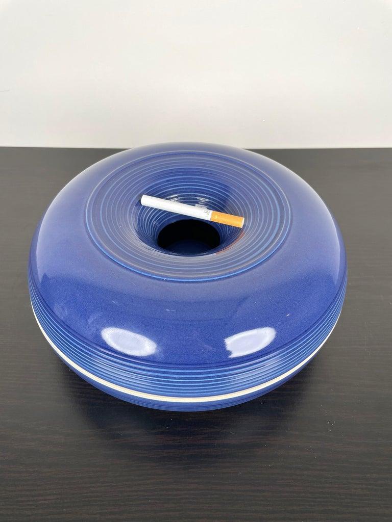 Ceramic Ashtray by Franco Bucci for Laboratorio Pesaro, Italy, 1970s For Sale 2