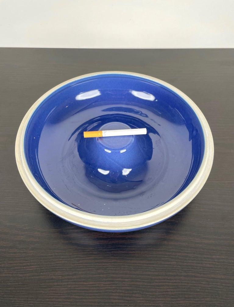 Ceramic Ashtray by Franco Bucci for Laboratorio Pesaro, Italy, 1970s For Sale 3