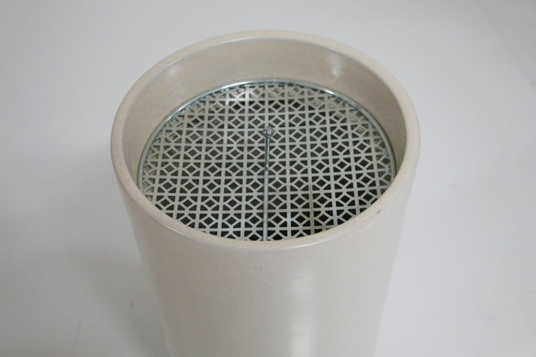 20th Century Ceramic Ashtray Pottery by Gainey Ceramics, Indoor or Outdoor, New Old Stock For Sale