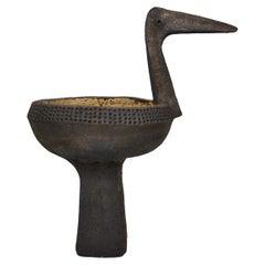 Ceramic bird by Dominique Pouchain