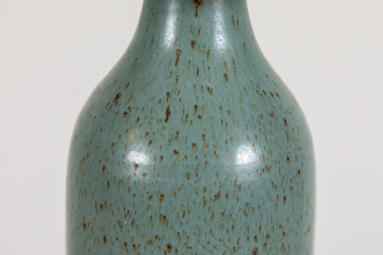 American Ceramic Bottle Lamp by Victoria Morris For Sale