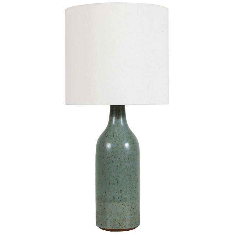 Ceramic Bottle Lamp by Victoria Morris For Sale
