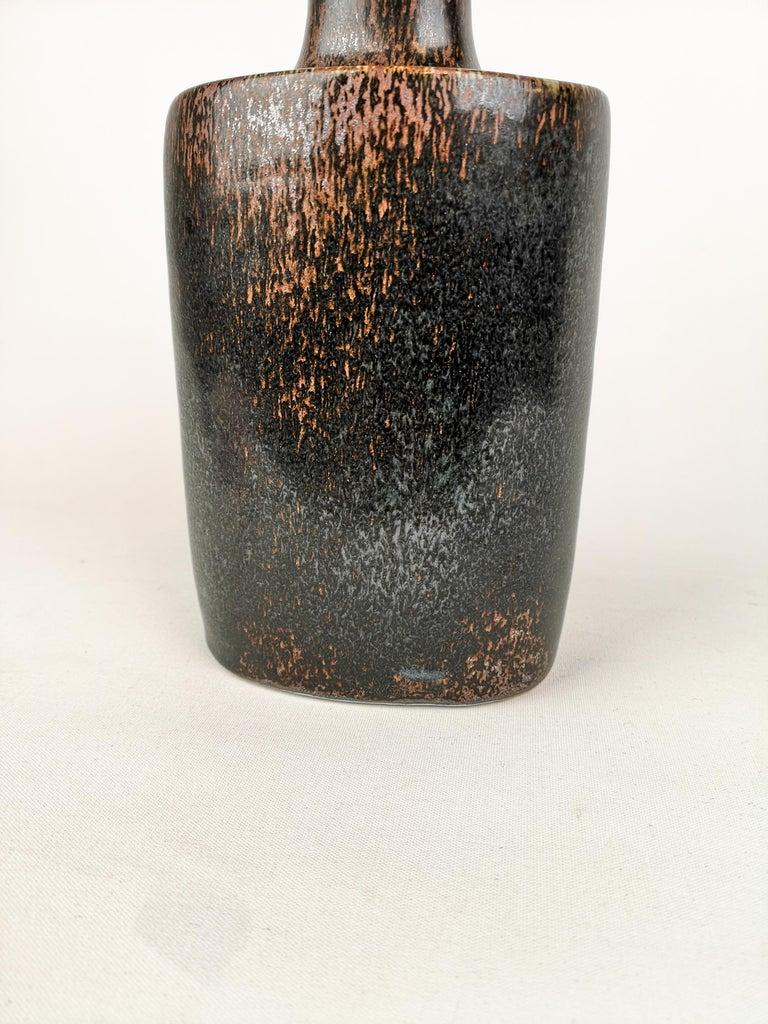 Late 20th Century Ceramic Bottle Stig Lindberg Gustavsberg, 1970s For Sale