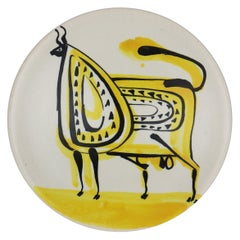 Ceramic Bowl by Roger Capron